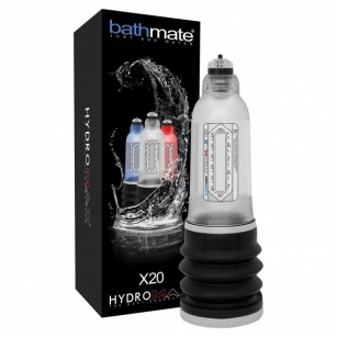 BATHMATE HYDROMAX X20 CRYSTAL CLEAR